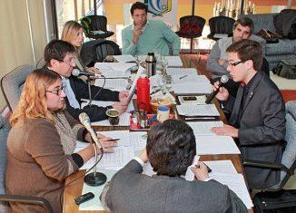 La última sesión antes del receso invernal tuvo momentos de mucho debate. FOTO Lisandro Carrobé.