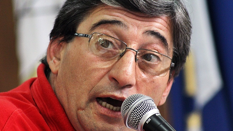 El Frente Progresista insiste en saber la situación judicial del concejal Quevedo. FOTO Lisandro Carrobé.