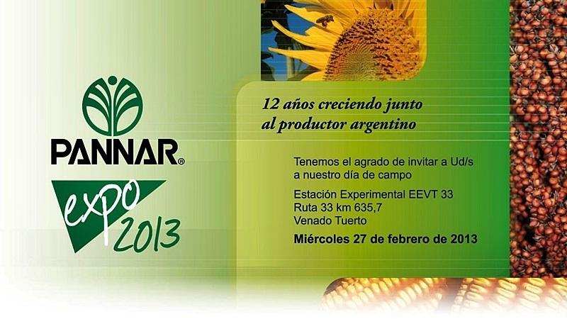 expo pannar 2013 venado tuerto