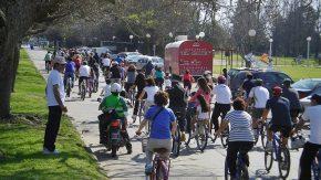 Bicicleteada por la salud