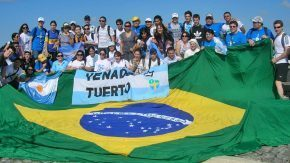 Santafesinos en Río