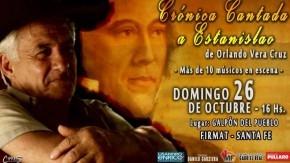 """Orlando Vera Cruz presenta en Firmat la """"Cantata al Brigadier"""""""