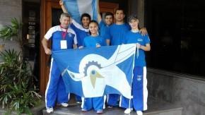 Firmatenses en el Panamericano de Taekwondo de Paraguay