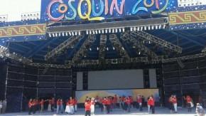 La delegación de Santa Fe en Cosquín