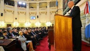 Bonfatti inauguró las sesiones