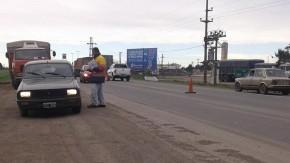 RN 33: cortada entre Villada y Chabás