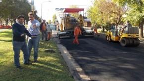 Se licitaron 5 nuevas cuadras de pavimentación