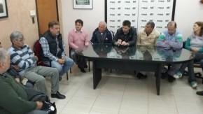 El intendente Maximino recibió al Consejo de Pastores de Firmat