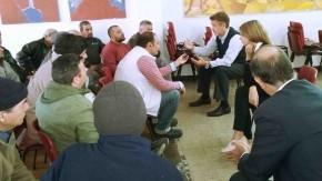 Reuniones con obreros y patronal de DASA y con la Intersindical