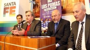 Lanzaron en Santa Fe el test match: Los Pumas frente a Italia