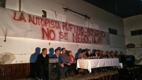 """""""Que no nos vuelvan a robar la Autopista Rosario-Rufino"""""""
