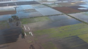 Anunciaron asistencia a productores lecheros afectados por la emergencia hídrica