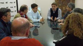 El intendente recibió a los concejales para analizar el proyecto de colectivos urbanos