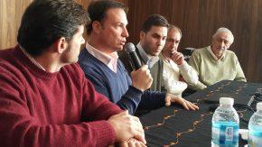 Enrico y el gobierno santafesino presentaron programas para pequeñas empresas de Rufino