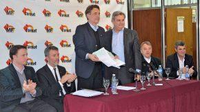 El intendente Maximino anunció una importante inversión de$ 33.532.500 para120 cuadras de la ciudad