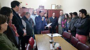 Vecinos e instituciones de Rufino firmaron petitorio de Enrico para más colectivos hacia Rosario