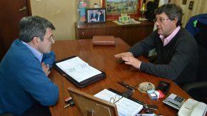 Pieroni y Artoni articulan agenda común
