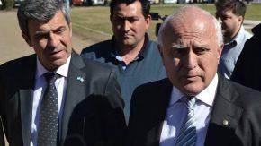 Pieroni acompañó al gobernador en su visita a Venado Tuerto