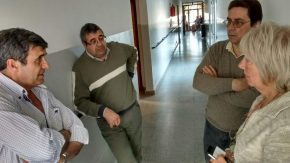 Pieroni visitó el Club Italo y el Hogar de Ancianos de Wheelwright