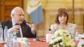 Lifschitz y Bullrich presidieron la primera reunión del Comité de Seguridad