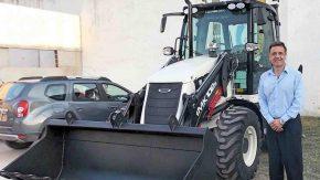 La Municipalidad de Firmat incorporó una Retroexcavadora 0 Km