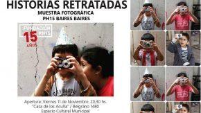 """Muestra Fotográfica """"Historias Retratadas: PH15 y Baires Baires"""""""