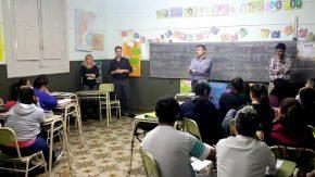Sigue avanzando el proyecto de formación laboral en secundarios para adultos impulsado por el senador Enrico