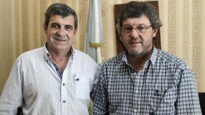 Pieroni se reunió con el presidente comunal Gustavo Artoni