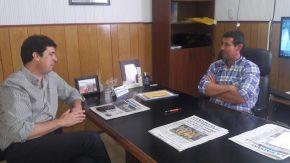 Bombal: Provincia y comuna evaluaron obras y acordaron nuevas gestiones
