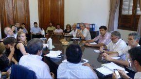 La crisis hídrica tuvo tratamiento en la reunión de la comisión de seguimiento de Obras Menores
