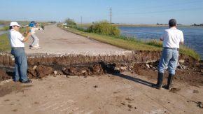 Mejora la situación hídrica en Teodelina