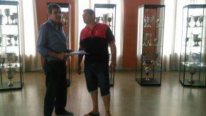 El club Sportsman Carmelense recibió aporte económico del diputado Pieroni