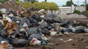 Después de la inundación nos tapó la basura