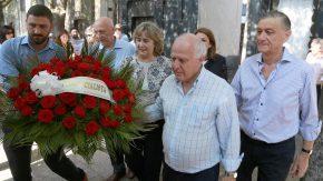 """Bonfatti convocó a los socialistas a """"seguir el camino y el ejemplo"""" de Estévez Boero"""