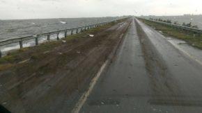 Continúan las obras viales para reparar los daños que causó el desborde de la laguna La Picasa