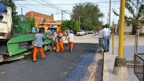 Comenzó la repavimentación de calle San Juan