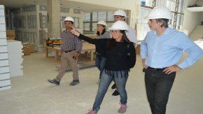 El ministro González recorrió las obras del nuevo Hospital Nodal en Venado Tuerto