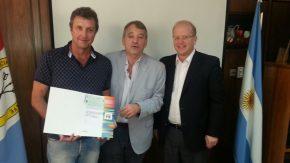 El diputado Real: subsidios y gestiones para los clubes FFBC y  CAA