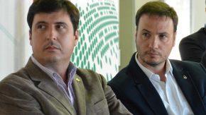 Enrico, Milardovich y la Asociación de Apicultores, trabajan para fortalecer la actividad
