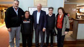 Bonfatti reafirmó el apoyo del socialismo a los trabajadores de la cooperativa Hotel B.A.U.E.N.