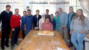 El senador Enrico presente en la Escuela Especial de Villa Cañás