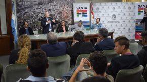 Pieroni y Speranza entregaron más de $6 millones para la gestión integral de residuos en Rufino