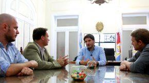 El senador Enrico y Hernán Gianinni realizaron gestiones para la remodelación  de la Comisaría de Amenábar