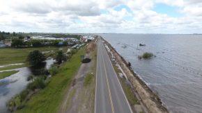 Enrico propuso reconstrucción y alteo de la ruta 90 en Melincué