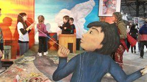 La muestra artística Berni para Niños llegó a Los Quirquinchos