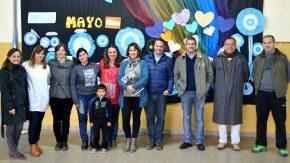 El senador Enrico propuso soluciones a necesidades de las escuelas de Amenábar