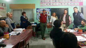 Educar y concretar proyectos con instituciones sociales, una labor permanente del senador Enrico