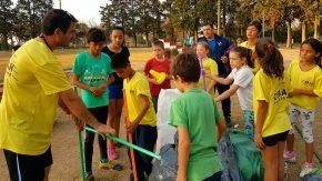 El senador Enrico apoya el resurgimiento del atletismo para niños