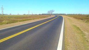El senador Enrico anunció que se acerca la reinaugución de la ruta provincial 93 tras ser pavimentada