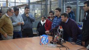 Importante equipamiento técnico para la Escuela Técnica Nº 281